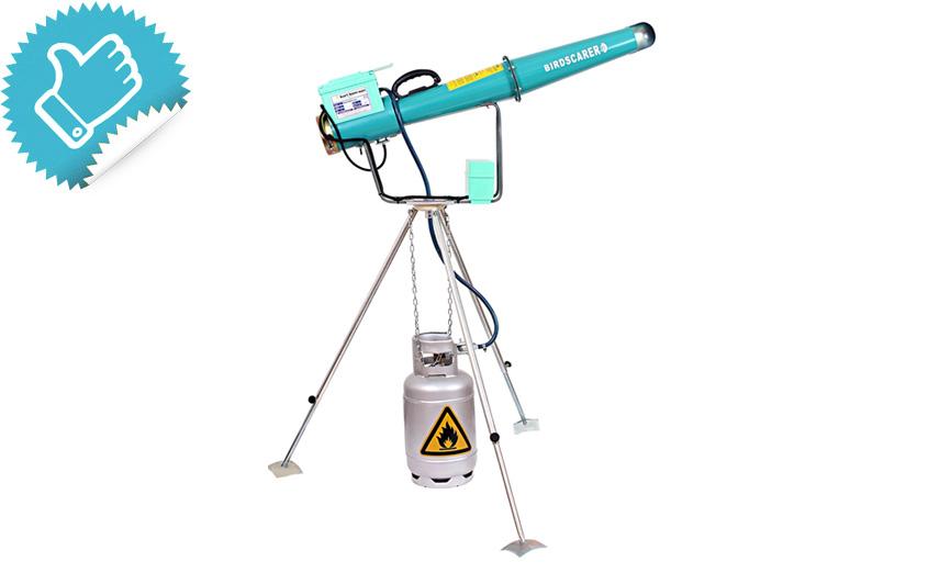 Отпугиватель птиц KBS-E2 с поворотным механизмом