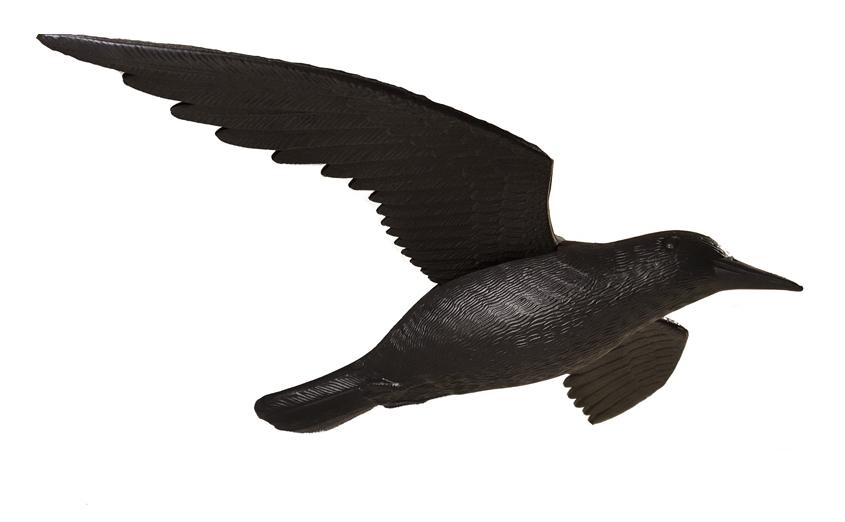 Муляж Ворон в полете - Защита от голубей